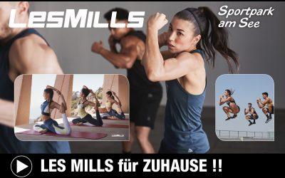 LES MILLS Workouts für Zuhause