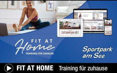 FIT AT HOME – Training für zuhause