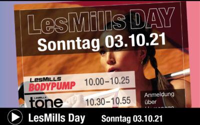 Großer Les Mills Day